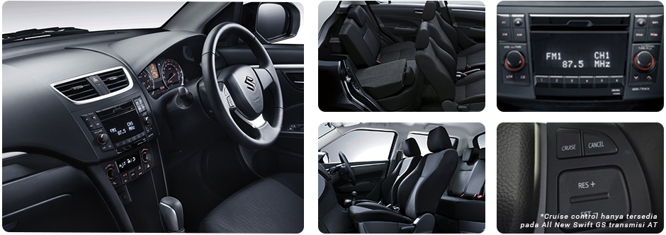 All New Swift GS MT INTERIOR
