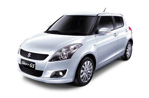 All New Swift GS Silky Silver Metallic