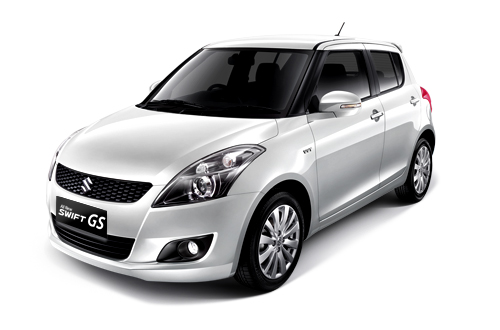 All New Swift GS Snow White Metallic