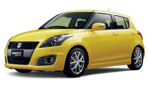 Swift Sport Champion Yellow 4