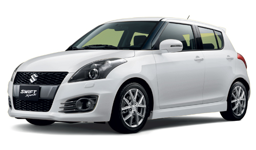 Swift Sport Snow White Pearl