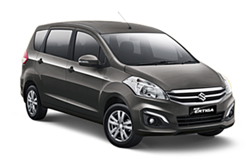 New Ertiga Graphite Grey Metallic